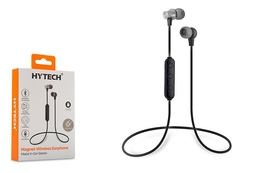 Simsiz qulaqlıq Hytech HY-XBK75 Mobile Phone Compatible TF Card + Bluetooth In-Ear Silver Headset with Microphone
