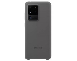 Silicone Cover for Galaxy S20 Ultra, gray (EF-PG988TJEGRU)