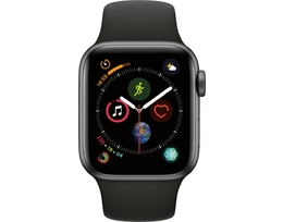 Smart saat Apple 4S 40mm Space Gray Black Sport Band (MU662LL/A)