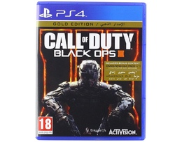 Oyun PS4 DISK CALL OF DUTY BLACK OPS 3 GOLD EDITION